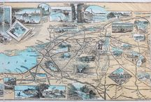 Pictorial Maps / Pictorial maps are highly collectible and entertaining.  Very in demand!