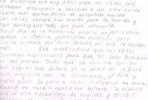 """Concurso de escritura en español. Abril de 2014. / Los 4 textos finalistas del concurso de escritura en español con el tema """"Madrid me mata"""". El ganador tendrá un premio de dos semanas de curso gratis. Cursos de español para extranjeros en la Academia Paraninfo."""