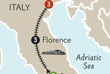 Bryllupsreise til Italia