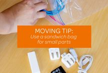 Moving / Just stuff about how to be organized when you move. No brainer.