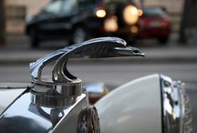 Cars - Auto Jewelry / Vehicle embellishments such as hood ornaments, chrome accessories, bumpers...etc / by Scott Sanders