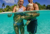 "Bethany Hamilton / She is my role model. The ""Soul Surfer"" film is abaout she."