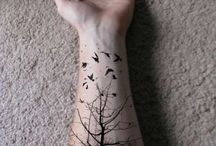 tattoo / trees