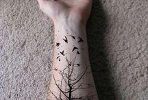 tattoo / trees