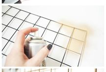 Wire memo board ideas