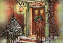 Finestre e Porte di Natale