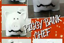 Piggy Banks!♡♡♡