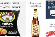 Richmond's British Food Shop / Online shop. Vendite online