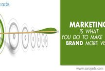 Outdoor Advertising Agencies / Marketing is what you do to make your brand more visible.
