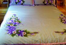 pintura jogo de cama