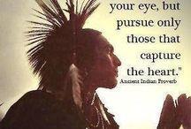 American Indian sayings