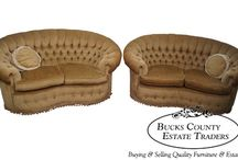 Sofas & Loveseats / We carry sofas, loveseats, settees, settles, and lounge chairs!
