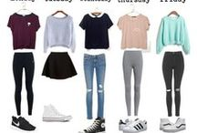 Outfit for... / In this pin have outfit's for every one, for winter, spring,autum and summer