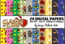 Digital Papers - Scrapbook - Digital Arts / Digital Papers