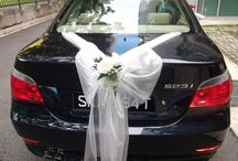 Bruiloft Auto's