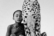 human with animal