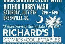 Richard's Comics Signing July 2017