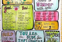 Notebook and art journal ideas
