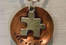 A piece of the puzzle  / Autism Awareness  / by Abigail Frazee