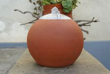der Zeuberberg (in snow) / material: earthenware glaze: Ilmenite based sinter angobe dim: 20.5Χ20.5 weight: 2 kgr