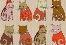 Meow / All things cat. / by Elaina Najera