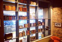 Caffe Nero - Eldon Square, Newcastle / The book collection for the new Caffe Nero shop Newcastle