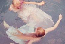 i: the mermaid and her princess.