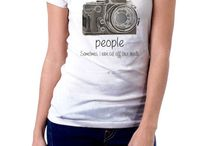 Camisetas de Fotografia