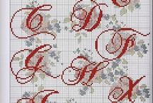 Cross Stitch - Alphabets / by Dagmar Shytle