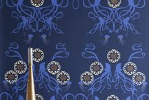 glam wallpaper / obsessed. with. wallpaper. / by One Hungry Mama