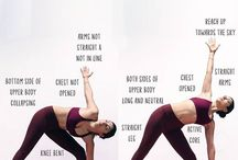 How to do: yoga poses