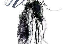 Fashion / Fashion Drawings and Illustrations