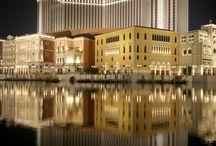 Macau's city lights