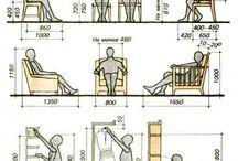Hyder ved møbler