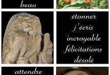 """Si j'étais un mot / Le questionnaire """"Si j'étais un mot..."""" du blog de Denis Gentile MoreThanWords.fr en une image"""
