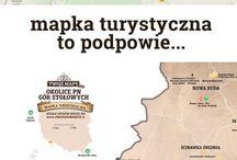 Mapki turystyczne regionu
