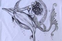 Mermaids, dolphins, whales tattoos :) / I am thinking of having my first tattoo. A mermaid and a humpback whale.