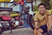 my #motorcycle #classic #honda #c70 /  #honda  #c70 #classic