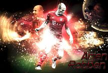 Arjen Robben / Arjen Robben is a Dutch professional footballer who plays for German club Bayern Munich and is the captain of the Netherlands national team. Wikipedia Born: 23 January 1984 (age 33), Bedum, Netherlands Height: 1.8 m Weight: 80 kg Spouse: Bernadien Eillert (m. 2007) Salary: 9.8 million GBP (2015) Current teams: FC Bayern Munich (#10 / Midfielder), Netherlands national football team (Forward)