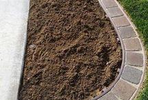 Zahrada - obrubník