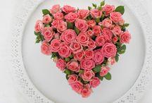 Bloemenharten Marie-Fleurie Bloemenatelier / Liefde