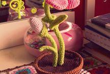 CROCHET-Plantas