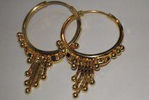 22K Solid Gold Earrings For Women