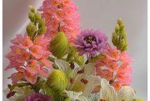Perline fiori e composizioni