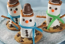 Cookie Creations  / Fun recipes you can use Skeeter Snacks to create