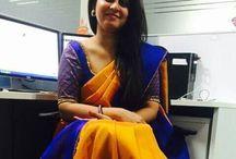 sarees and blouse design