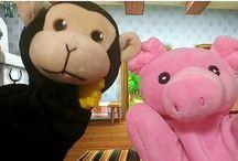rosi y sus amigos / videos para niños marionetas. videos educativos. bebes, juguetes.