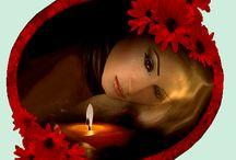 ZNICZ~ WSPOMNIENIA! / Palące się znicze budzą wspomnienia,  o tych co odeszli i z nami ich nie ma:)
