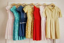 Pretty Clothes / All the things I want to buy or make for my closet. / by pinksuedeshoe