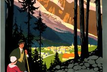 Travel Posters / by Frances Caudill